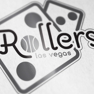 Vegas Rollers Logo Design
