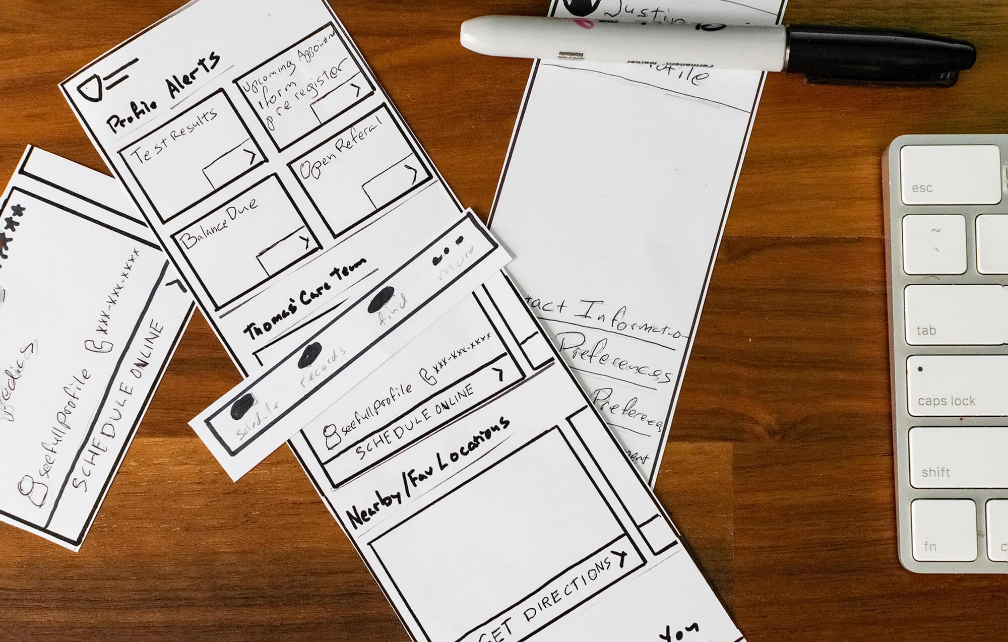 Dashboard Sketches